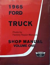 1965 Ford F100 F250 F350 Bus Parcel Medium Heavy Truck Shop Service Manual Set