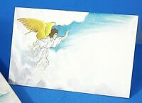 "Set of 28 Place Cards Angel in the Clouds 4.25""x 2.5"" When Folded NWT"