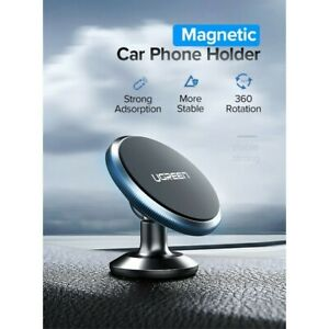 Alloy Magnetic Phone Holder Car Dashboard Mount for iPhone 12 Pro Samsung S21 +