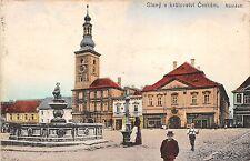 bg18692 czech slany v Kralovstvi ceskem namesti