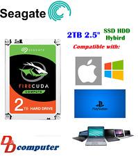 "Seagate 2TB SSHD 2.5"" SATA3 Internal Hybrid Hard Disk Drive SSD Laptop PS4 MAC"