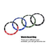 Bague d'insertion de montre-bracelet plastique Noir partie de lunette montre Kit