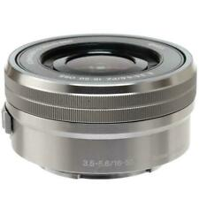 Sony E PZ 16-50mm f/3.5-5.6 OSS Lens for Sony E-Mount Cameras Silver Brand New!