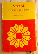 Stratford - Around and About, 1972 Stratford Festival Theatre guide book Canada