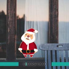 BABBO Natale natale adesivi-Natale Windows ADESIVI-Santa ADESIVI