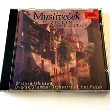 Josef Myslivecek – Violin Concertos (CD 1988) Shizuka Ishikawa / Libor Pesek