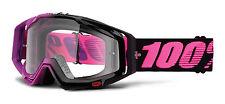 100% Gafas de motocross HARIBO RACECRAFT Transparente Colorido Por Cien Mx