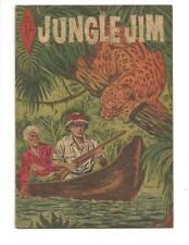 Jungle Jim #15 1955  Australian Leopard Cover!