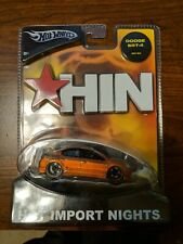 Hot Wheels orange HIN D-Force Dodge SRT-4 srt4 neon 1:50 Scale rare