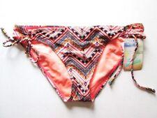NWT Hobie swimsuit bikini bottom Sz M ORG Orange Crochet