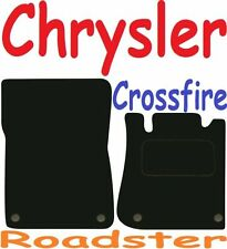 Chrysler Crossfire Roadster Tailored Deluxe Quality Car Mats 2004-2008 Convertib