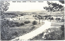 Williston VT Twist O'Hill Lodge Real Photo RPPC Postcard