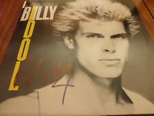 BILLY IDOL SIGNED LP AUTOGRAPHED IN PERSON PROOF! COA AUTOGRAPHED ALBUM