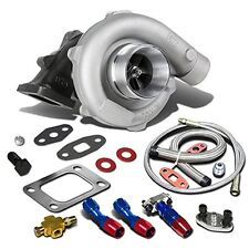 T04E T3/T4 4-Bolt Manifold Flange Stage III Universal Turbocharger+Oil Feed+Drai