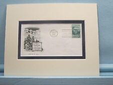 Mount Rushmore and the First Day Cover of its own stamp