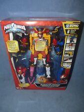Power Rangers DX Ninja Steel Megazord 5 Zords Combine + Bonus Figure NEW
