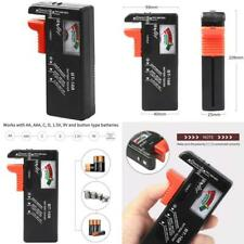 Battery Tester Checker Monitor for Aaa, Aa, C, D, 9V and Small Batteries