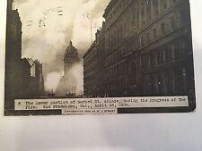 San Francisco Vintage Postcard 1906 fire