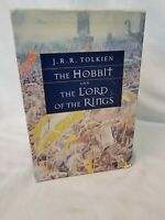 JRR Tolkien Lord Of The Rings And Hobbit Mifflin Paperback Books Box Set 1997