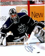 Los Angeles Kings JAMIE STORR Signed Autographed 8x10 Pic A