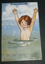 """Agnes Richardson"" Weston-Super-Mare Postcard - Early 1900's"