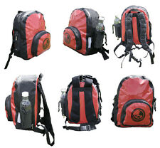 Waterproof 20L dry bag rucksack, padded back & straps. Made with seamless PVC