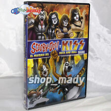 Scooby-Doo! y Kiss El Misterio del Rock and Roll - 1 DVD REGION 1, 3 Y 4