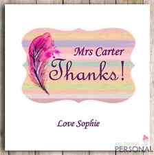 Los profesores de Tarjeta Personalizado Gracias profesor asistente de enseñanza de regalo presente D2