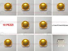 PULSANTE MICRO SWITCH CHIAVE TELECOMANDO FIAT 16 SEDICI OPEL SUZUKI 4 PIN-10 PZ.