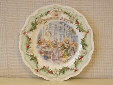 ROYAL DOULTON BRAMBLY HEDGE PLATE - CANDLELIGHT SUPPER