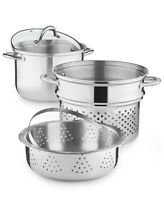 Tools Of The Trade Stainless Steel 8 Quart Multi Pot and Steamer