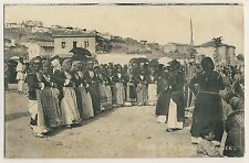 Greece DANCING WOMEN Megara TANZENDE FRAUEN Attika * AK um 1915