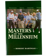 New Masters Of The Millennium Hardcover Golf Book