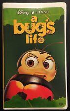 A Bugs Life VHS 15653, 1999 Disney Pixar THX CC  G Special Bonus Footage Dolby