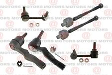 Inner Outer Left Right Tie Rod End Stabilizer Bar Link For Infiniti G35 03 To 05