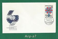 (Fc1093) Czechoslovakia Fdc - First Day Cover 1964 Xiv Mff in Karlovy Vary