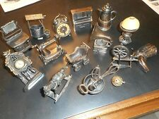 "A ""Bonanza"" Of 13 Vintage Durham Industries Die Cast Miniatures, + 2 Bonus Items"
