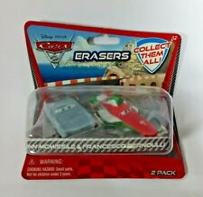 More details for new disney pixar cars erasers pack of 2 - free p&p