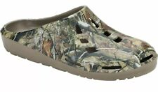 NEW MENS Sz 9 CAMO Chopouts CLOGS Mules REALTREE Rubber Slippers Water Shoes