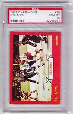 73-74 1973-74 O-PEE-CHEE SYL APPS PSA 10 GEM MINT ONLY 3! 76 PITTSBURGH PENGUINS
