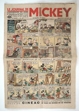 1936 France LE JOURNAL DE MICKEY MOUSE Antique Comics Newspaper French Ed