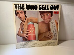 THE WHO-LP THE WHO SELL OUT -AUTOGRAFATO