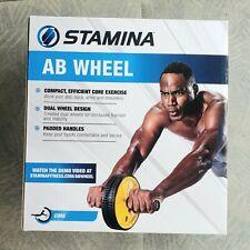 Stemina Ab Abs Workout Exercise Wheel Roller Gym