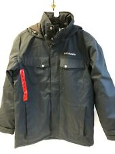 (C115) Columbia Eagle's Call Thermal Coil Mens Hood Insulated Jacket Medium