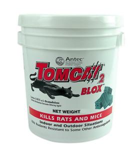 TOMCAT 2  PROFESSIONAL RAT POISON BLOX Rodent Bait Mouse 3 kg 4kg 8kg  Blocks