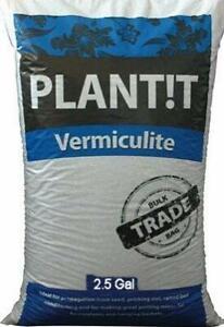 Vermiculite 2.5 Gallon - Grade 2 Medium