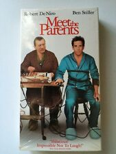 Meet the Parents Movie VHS Home Video Ben Stiller, Robert De Niro, Owen Wilson