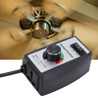 Electronic Stepless Speed Motor Switch Duct Fan Heater Controller 8A 220V-240V