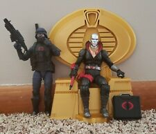 G.I. Joe Classified Cobra Trooper, Destro & Throne Loose lot 100% Complete