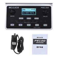 MOOER PE100 Multi-Effects Guitar Effect Pedal 6 Effect Blocks 39 Effects C2U6